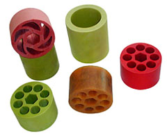 Silicone rubber spacer