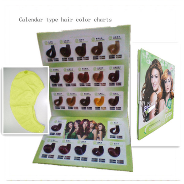 calendar hair color table