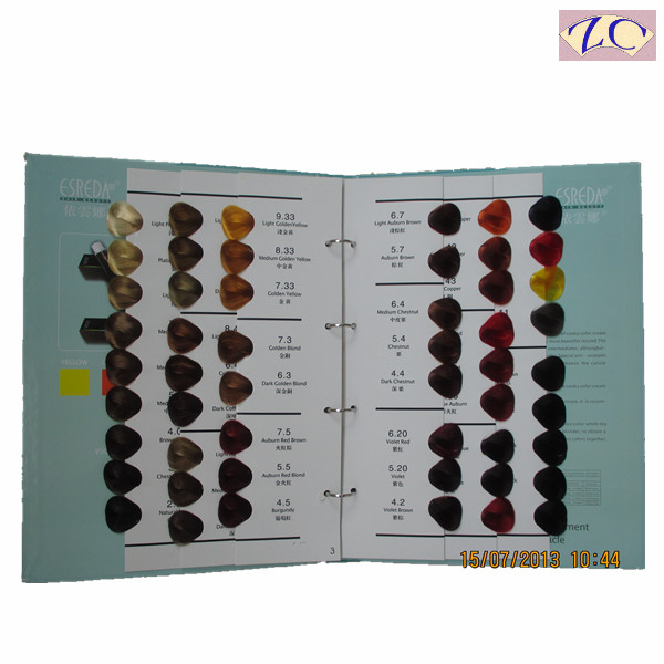 hair color table