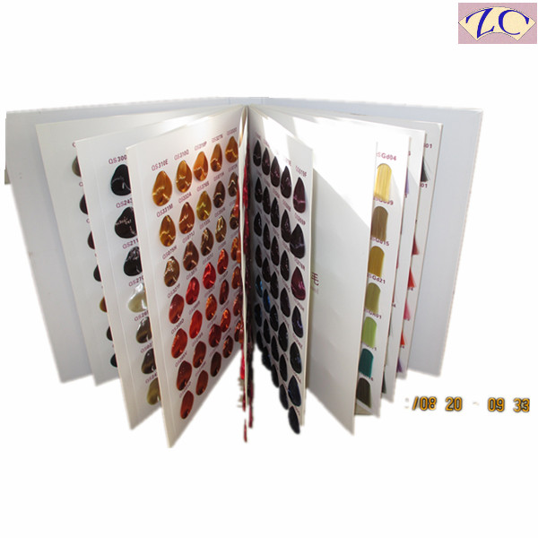 hair color shades brochure