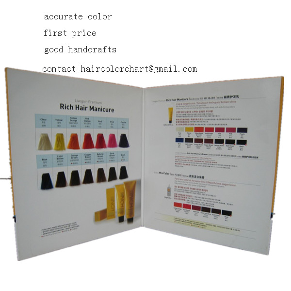 hair color table customized design