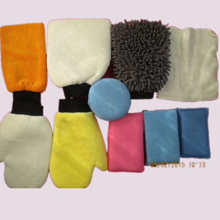 Microfiber Car Cleaning Glove