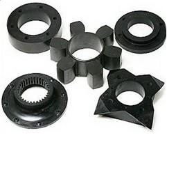 Industrial molded silicone rubber parts