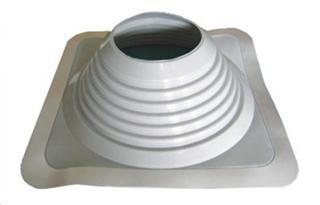 Rubber roof pipe flashing