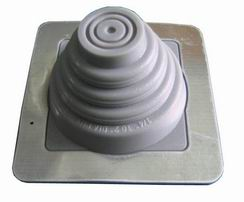 Silicone roof flashing