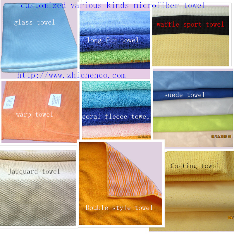 Varous kinds Microfiber Towels